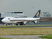 Boeing 747-412F/SCD Singapore Airlines Cargo 9V-SFO 32900 / 1349  Amsterdam-Schiphol (EHAM / AMS) 2007-06-19, Photo by: Karsten Palt