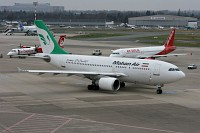 Airbus A310-304 Mahan Air EP-MHO 488  Düsseldorf International (EDDL / DUS) 2008-12-13, Photo by: Mike Vallentin