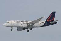Airbus A319-112 SN Brussels Airlines OO-SSP 644  Brussel/Bruxelles - Brussels Airport (EBBR / BRU) 2009-01-11, Photo by: Mike Vallentin