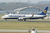 Boeing 737-8AS (wl) Ryanair EI-DAR 33552 / 1371  Friedrichshafen (EDNY / FDH) 2009-04-03, Photo by: Karsten Palt