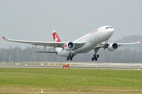 Airbus A330-223 Swiss Intl Air Lines HB-IQA 229  Zürich (LSZH / ZRH) 2009-04-04, Photo by: Karsten Palt