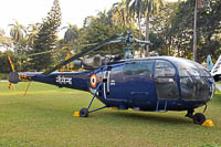HAL, Hindustan Aeronautics Limited SA-316B Chetak, Indian Navy, IN464, c/n AH211,© Arjun Sarup, 2011