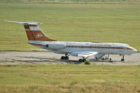 Tupolev Tu-134K Interflug DDR-SCF 9350905  Leipzig/Halle (EDDP / LEJ) 2013-07-10, Photo by: Karsten Palt