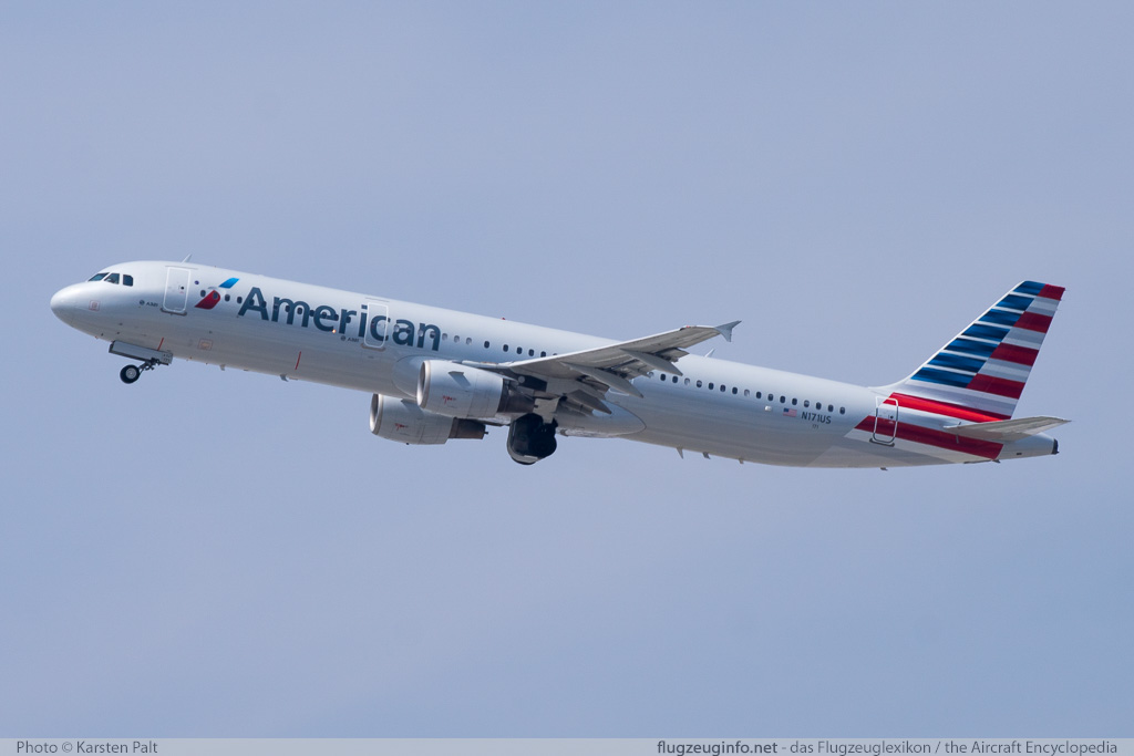Airbus A321-211 US Airways N171US 1465  LAX International Airport (KLAX / LAX) 2015-06-01 � Karsten Palt, ID 11493