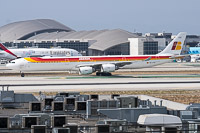Airbus A340-642 Iberia EC-LCZ 993  LAX International Airport (KLAX / LAX) 2015-06-01, Photo by: Karsten Palt