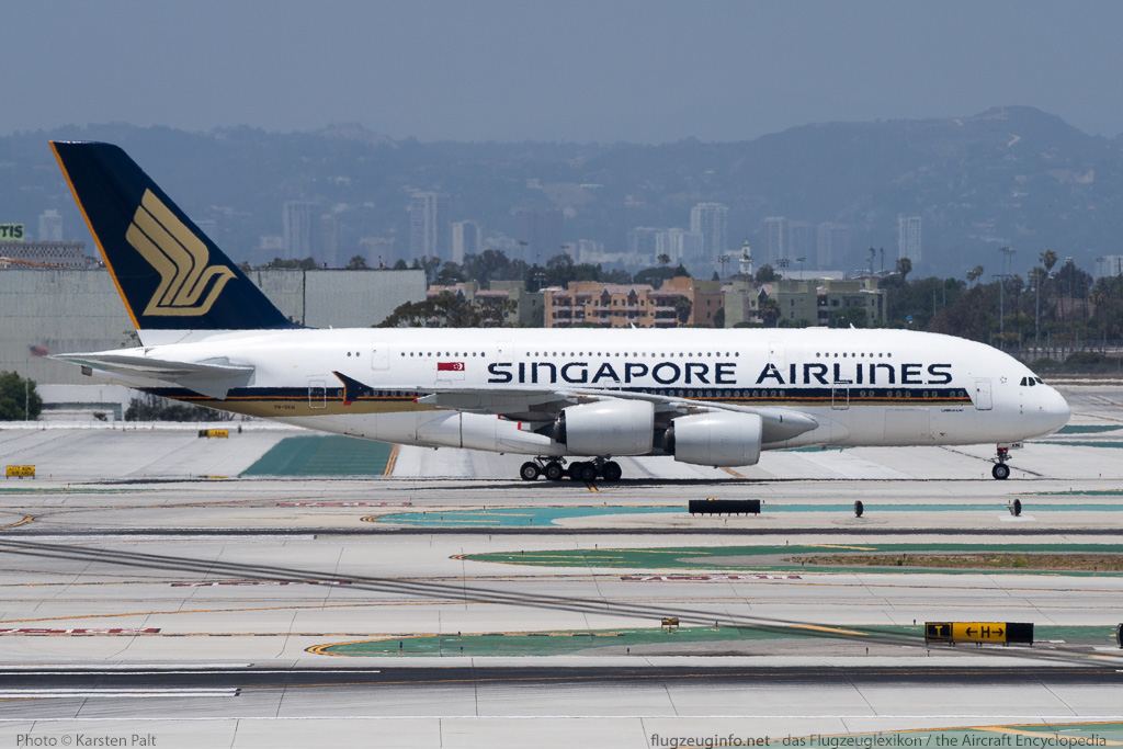 Airbus A380-841 Singapore Airlines 9V-SKN 071  LAX International Airport (KLAX / LAX) 2015-06-05 � Karsten Palt, ID 11554