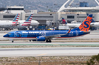 Boeing 737-8Q8 (wl) Sun Country Airlines N815SY 30623 / 1136  LAX International Airport (KLAX / LAX) 2015-06-05, Photo by: Karsten Palt