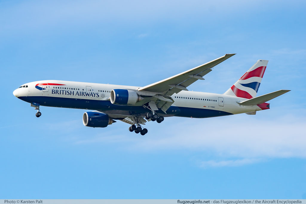 Boeing 777-236ER British Airways G-YMMC 30304 / 268  London Heathrow (EGLL / LHR) 2016-07-08 � Karsten Palt, ID 12725