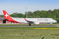 EMBRAER ERJ190 (ERJ-190-100LR) Helvetic Airways HB-JVQ 19000420  Frankfurt am Main (EDDF / FRA) 2016-05-09, Photo by: Karsten Palt