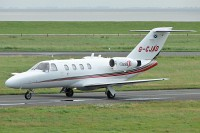Cessna 525 CitationJet CJ1 Davis Aircraft OPS G-CJAD 525-0435  Wilhelmshaven-Mariensiel (EDWI / WVN) 2008-08-14, Photo by: Karsten Palt