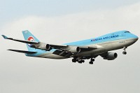 Boeing 747-4B5F/SCD Korean Air Cargo HL7434 32809 / 1316  Frankfurt am Main (EDDF / FRA) 2006-10-14, Photo by: Karsten Palt