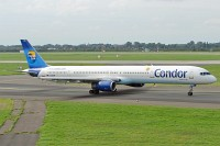Boeing 757-330 Condor D-ABOM 29022 / 926  Düsseldorf International (EDDL / DUS) 2006-09-02, Photo by: Karsten Palt