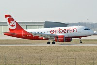 Airbus A319-112 Air Berlin D-ABGR 3704  Stuttgart (EDDS / STR) 2009-04-02, Photo by: Karsten Palt
