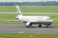 Airbus A320-232 Aegean Airlines SX-DVN 3478  Düsseldorf International (EDDL / DUS) 2010-08-21, Photo by: Karsten Palt