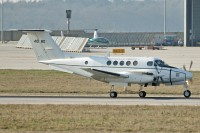 Beech B200C / C-12F Huron United States Army 84-0180 BL-110  Stuttgart (EDDS / STR) 2009-04-02, Photo by: Karsten Palt