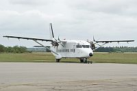 Short 360-300 Benair OY-MUG SH3716  Stauning Vestjylland Airport (EKVJ / STA) 2011-06-30, Photo by: Karsten Palt
