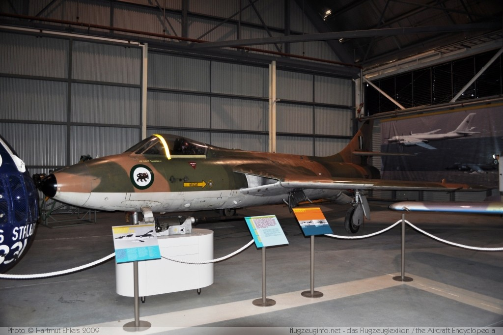 Hawker Hunter F.74A Rhodesian Air Force 280 41H/670805 RAN Fleet Air Arm Museum, Nowra NSW NAS Nowra - HMAS Albatross (YSNW / NOA) 2009-12-16 � Hartmut Ehlers, ID 3048