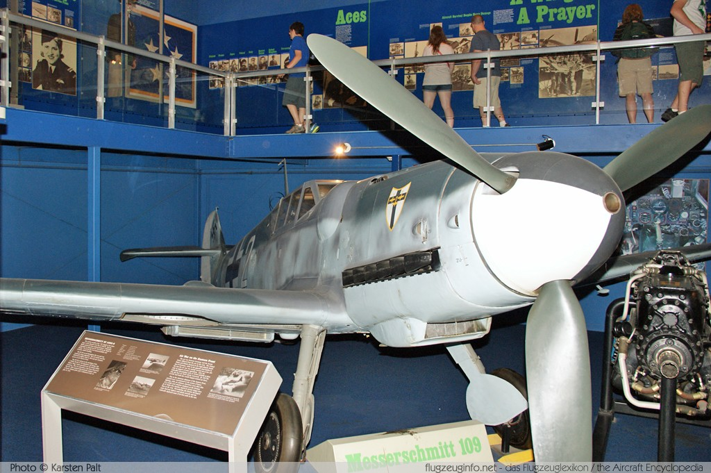 Messerschmitt Bf 109G-6 Luftwaffe (Wehrmacht) 160756 160756 National Air and Space Museum Washington, DC 2014-05-28 � Karsten Palt, ID 10164