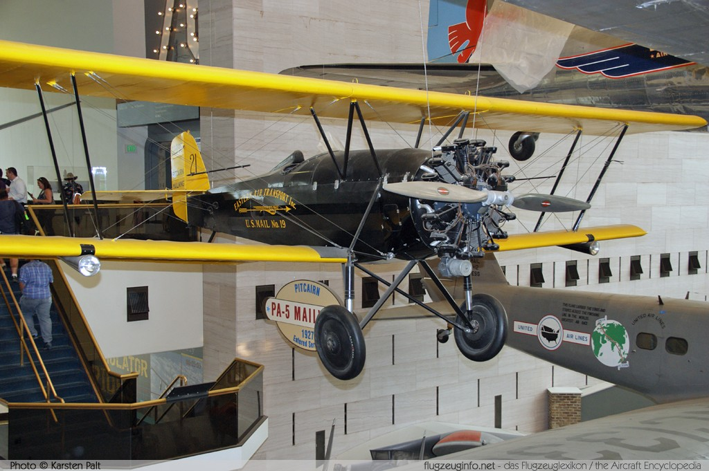 Pitcairn PA-5 Mailwing Eastern Air Transport NC2895 1 National Air and Space Museum Washington, DC 2014-05-28 � Karsten Palt, ID 10178