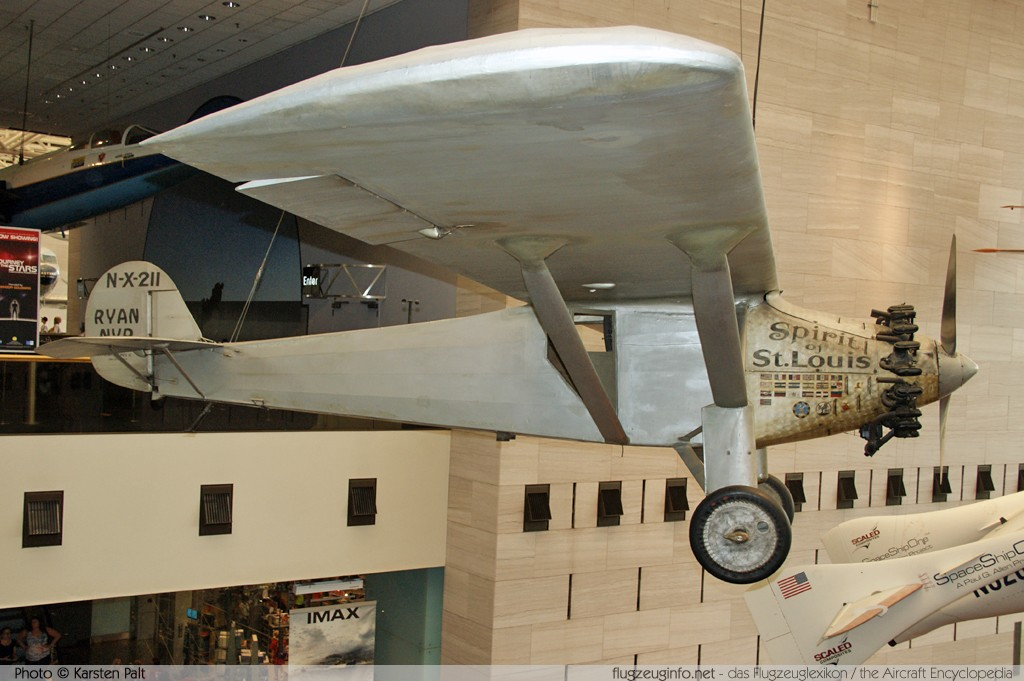 Ryan NYP  NX211 29 National Air and Space Museum Washington, DC 2014-05-28 � Karsten Palt, ID 10179