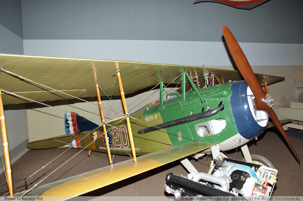 Spad XIII United States Army Air Service S7689 7689 National Air and Space Museum Washington, DC 2014-05-28 � Karsten Palt, ID 10184