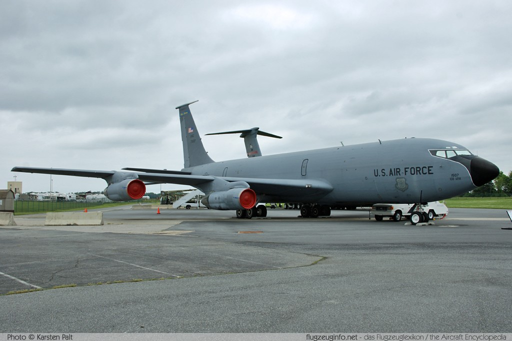 Boeing KC-135E Stratotanker United States Air Force (USAF) 57-1507 17578 Air Mobility Command Museum Dover AFB, DE 2014-05-30 � Karsten Palt, ID 10067