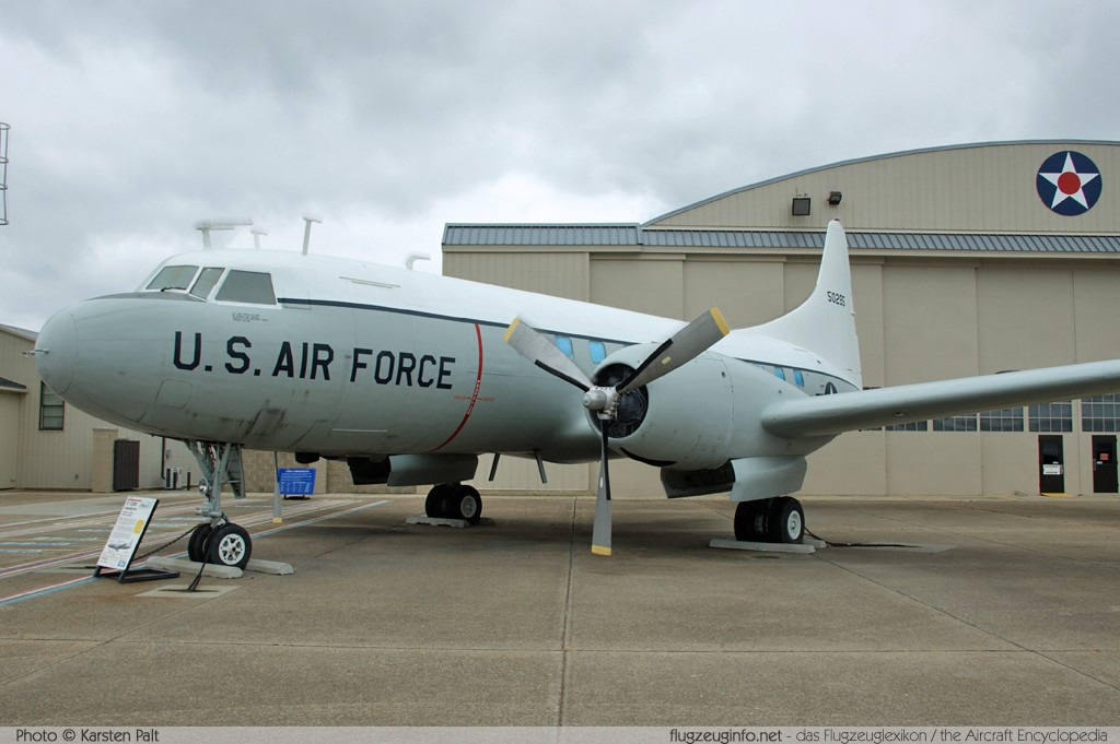 Convair C-131D United States Air Force (USAF) 55-0295 223 Air Mobility Command Museum Dover AFB, DE 2014-05-30 � Karsten Palt, ID 10072