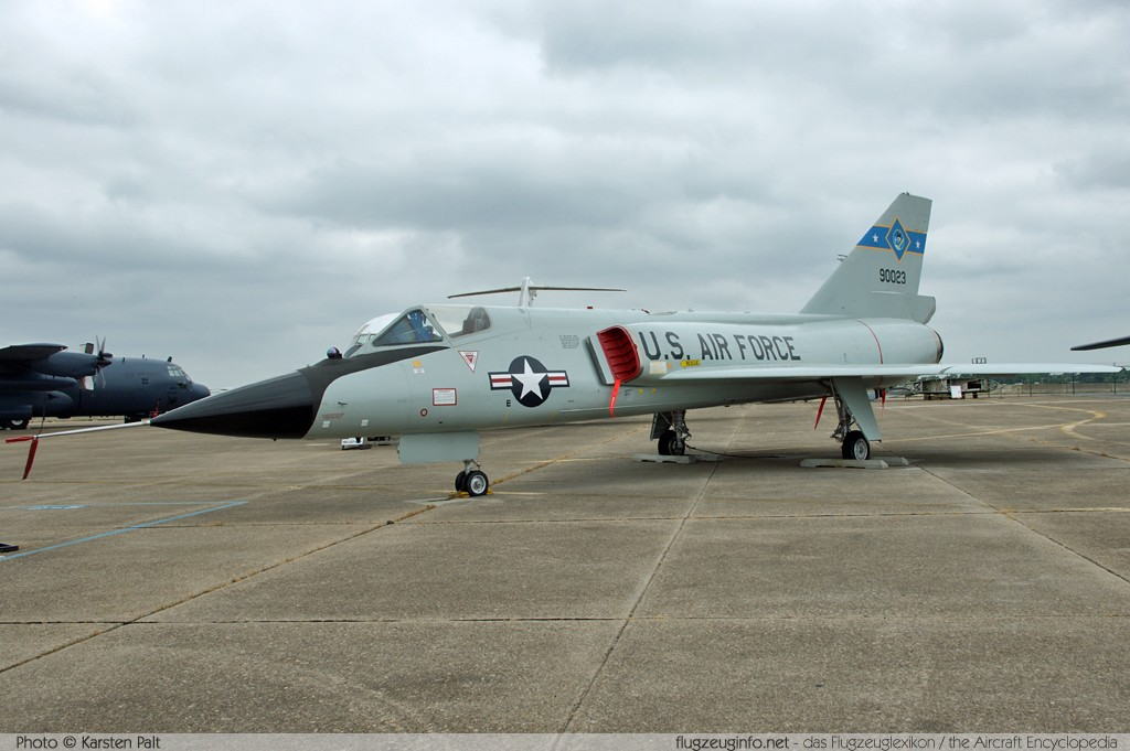 Convair F-�6A Delta Dart United States Air Force (USAF) 59-0023 8-24-152 Air Mobility Command Museum Dover AFB, DE 2014-05-30 锟� Karsten Palt, ID 10075