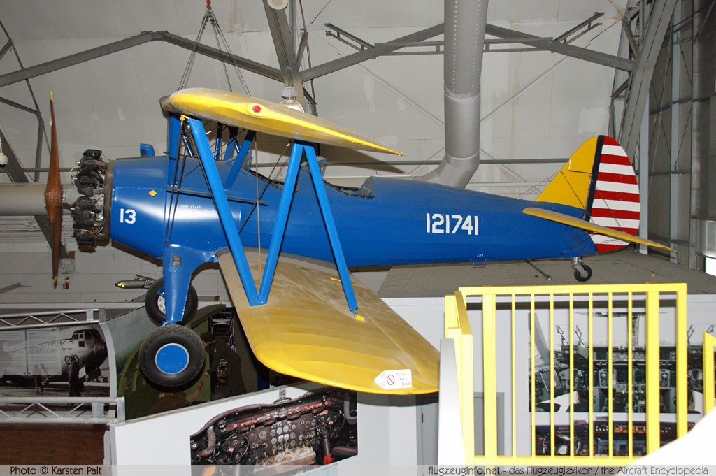 Boeing / Stearman PT-17 Kaydet (A-75N1) United States Army Air Forces (USAAF)   Air Mobility Command Museum Dover AFB, DE 2014-05-30 � Karsten Palt, ID 10120