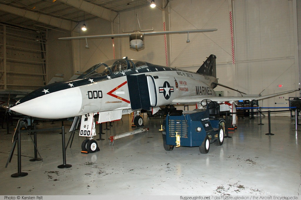 McDonnell F-4S Phantom II United States Marine Corps (USMC) 153904 2590 Aviation Museum of Kentucky Lexington 2013-10-13 � Karsten Palt, ID 7693