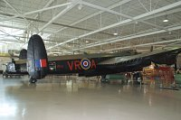 Avro 683 Lancaster B.X  C-GVRA 3414 Canadian Warplane Heritage Museum Hamilton, Mount Hope 2013-07-19, Photo by: Karsten Palt