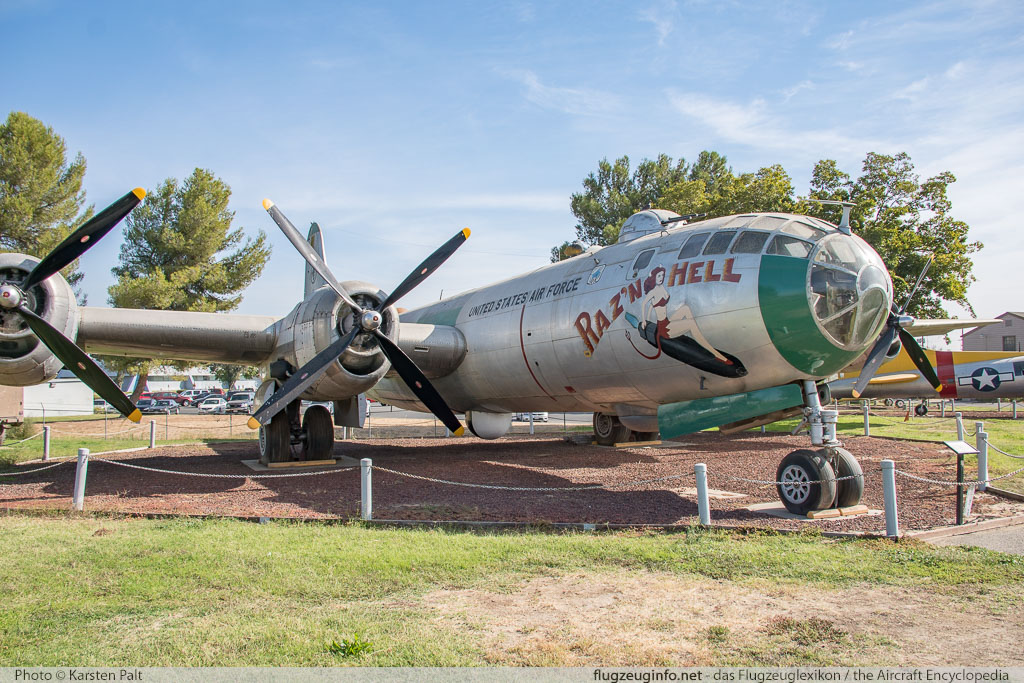 Boeing B-29 Superfortress United States Army Air Forces (USAAF) 44-61535 10896 Castle Air Museum Atwater, CA 2016-10-10 � Karsten Palt, ID 13198