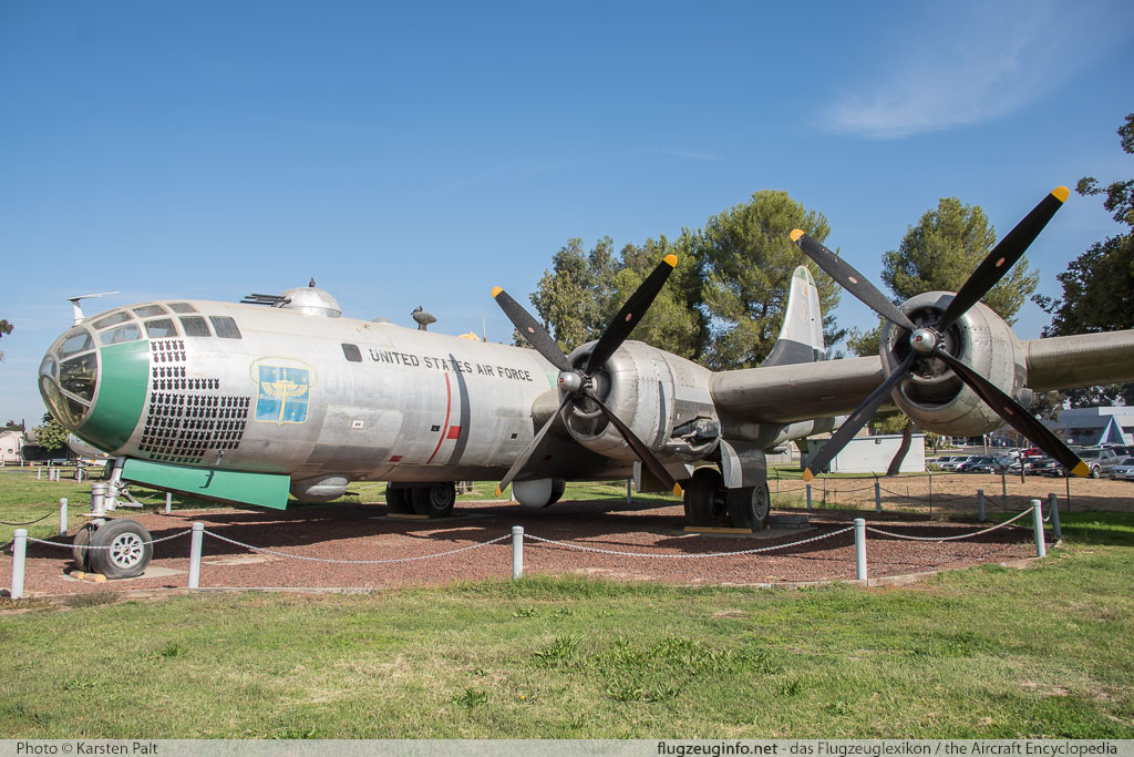 Boeing B-29 Superfortress United States Army Air Forces (USAAF) 44-61535 10896 Castle Air Museum Atwater, CA 2016-10-10 � Karsten Palt, ID 13199