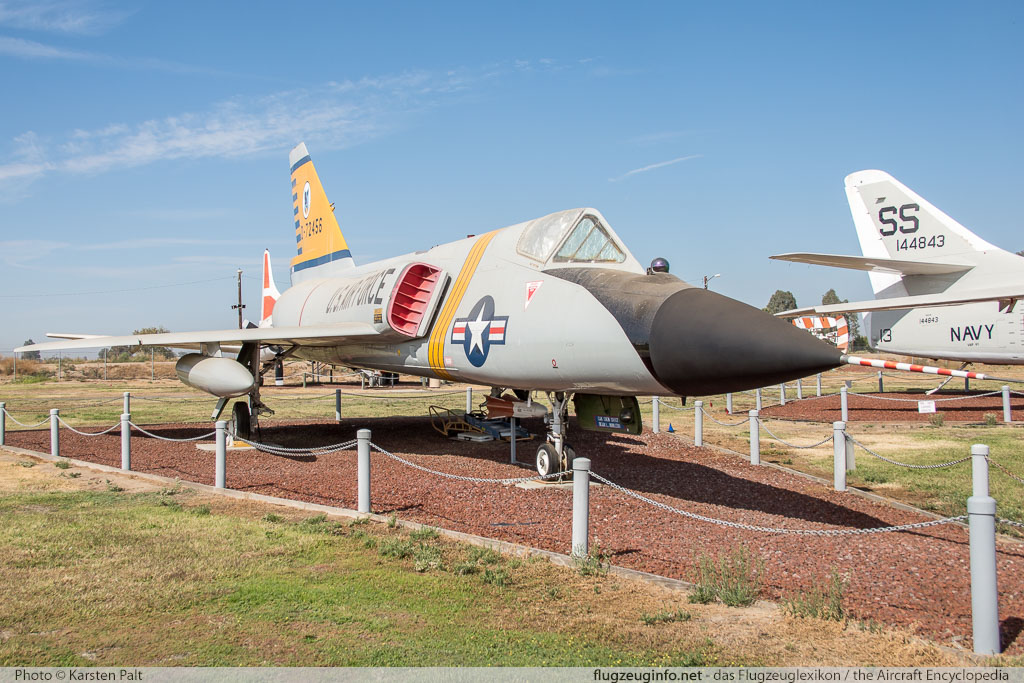Convair F-106A Delta Dart United States Air Force (USAF) 58-0793 8-24-155 Castle Air Museum Atwater, CA 2016-10-10 � Karsten Palt, ID 13216