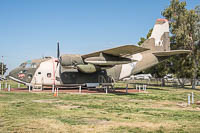 Fairchild C-123K Provider United States Air Force (USAF) 55-4512 20173 Castle Air Museum Atwater, CA 2016-10-10, Photo by: Karsten Palt