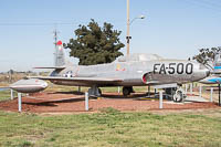 Lockheed F-94A Starfire United States Air Force (USAF) 49-2500  Castle Air Museum Atwater, CA 2016-10-10, Photo by: Karsten Palt
