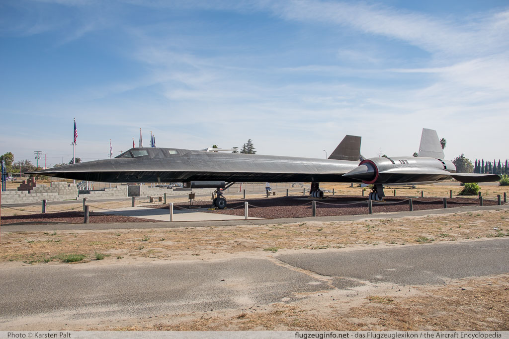 Lockheed SR-71A Blackbird United States Air Force (USAF) 61-7960 2011 Castle Air Museum Atwater, CA 2016-10-10 � Karsten Palt, ID 13248