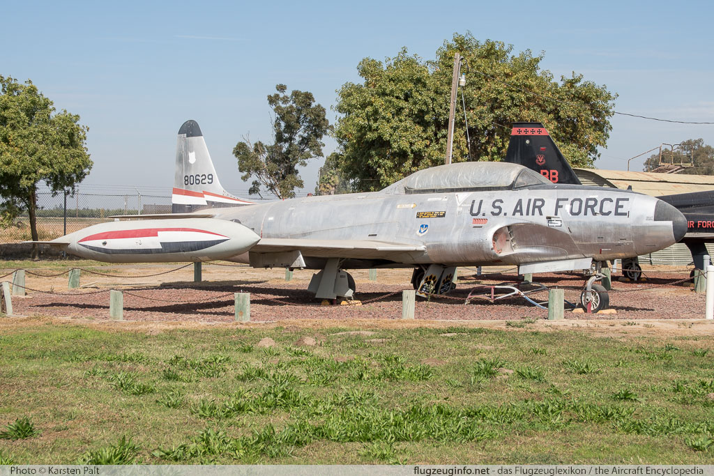Lockheed T-33A United States Air Force (USAF) 58-0629 580-1314 Castle Air Museum Atwater, CA 2016-10-10 � Karsten Palt, ID 13249