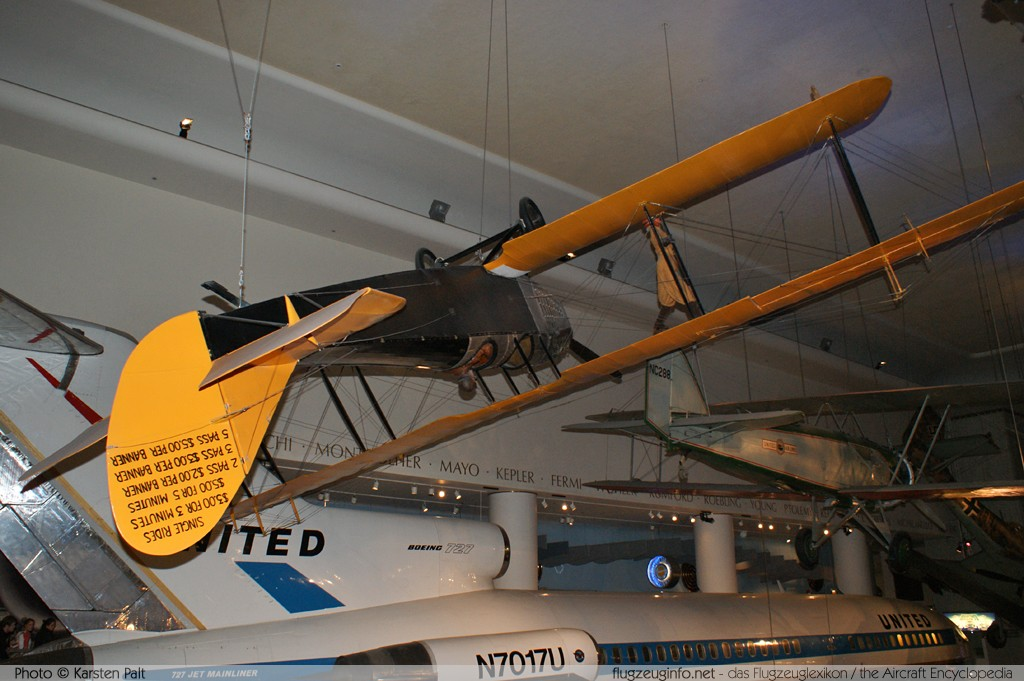 Curtiss JN-4D Jenny    Museum of Science and Industry Chicago, IL 2012-11-09 � Karsten Palt, ID 6381