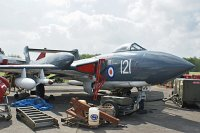 De Havilland DH 110 Sea Vixen FAW.2, Royal Navy, XJ494, c/n 10021,© Karsten Palt, 2013