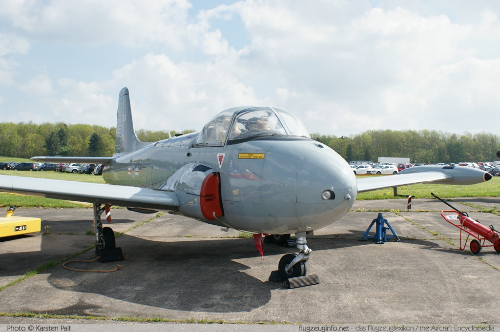 BAC P.84 Jet Provost T4 Royal Air Force XP672 PAC/W/17641 Cold War Jets Collection Bruntingthorpe, Leicestershire 2013-05-19 � Karsten Palt, ID 6643