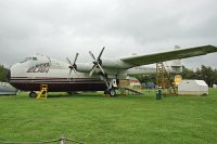 Armstrong Whitworth AW.650 Argosy 101 Elan Overnight Delivery System G-BEOZ 6660 East Midlands Airport Aeropark Castle Donington 2013-09-19, Photo by: Karsten Palt