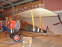 Sopwith Camel  B6401  Fleet Air Arm Museum Yeovilton 2008-07-13, Photo by: Karsten Palt