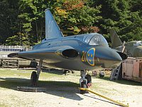 Saab Draken J35E, Swedish Air Force, 35931, c/n 35-931,� Karsten Palt, 2008