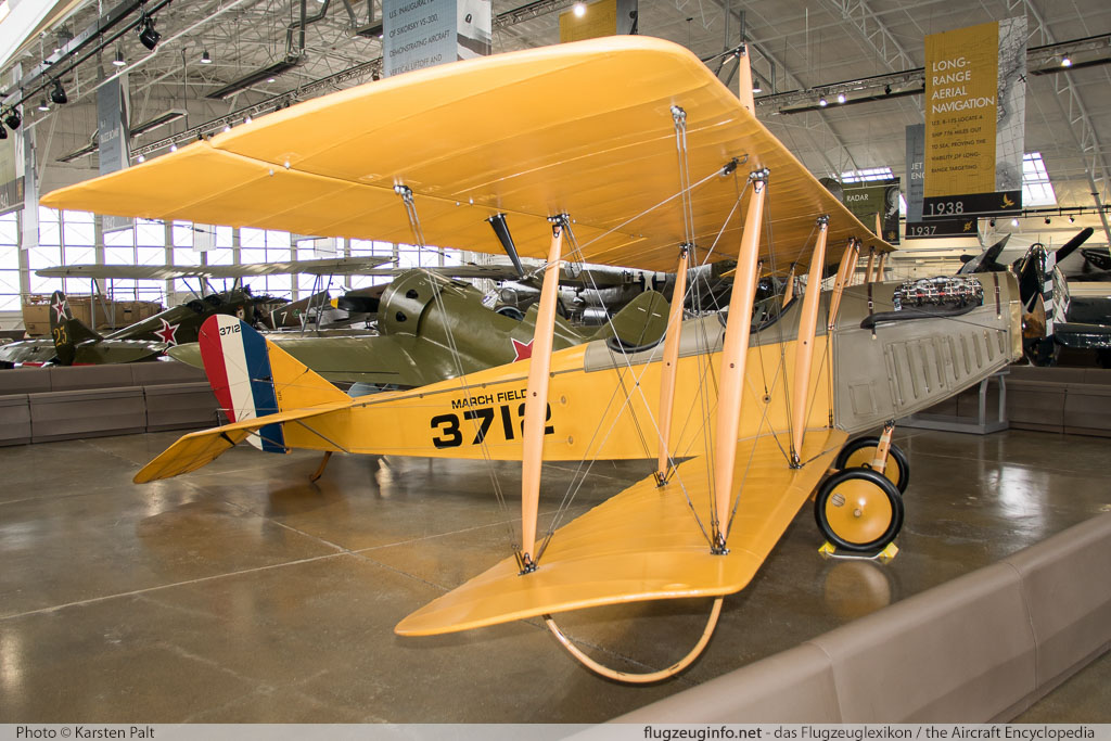 Curtiss JN-4D Jenny Flying Heritage Collection N3712  Flying Heritage Collection Everett, WA 2016-04-12 � Karsten Palt, ID 12351