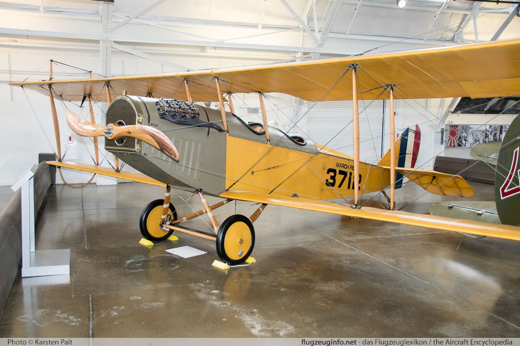 Curtiss JN-4D Jenny Flying Heritage Collection N3712  Flying Heritage Collection Everett, WA 2016-04-12 � Karsten Palt, ID 12352