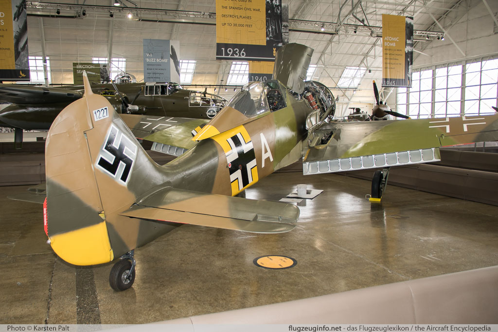 Focke-Wulf Fw 190A-5/U-3 Flying Heritage Collection N19027 151227 Flying Heritage Collection Everett, WA 2016-04-12 � Karsten Palt, ID 12357