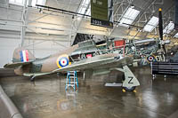 Hawker / CCF Hurricane Mk.12A Flying Heritage Collection NX54FH CCF/R32007 Flying Heritage Collection Everett, WA 2016-04-12, Photo by: Karsten Palt