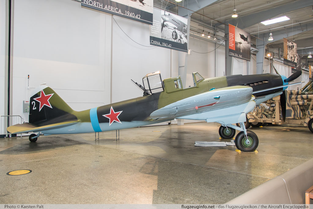 Ilyushin Il-2M3 Shturmovik Flying Heritage Collection NX112VW 305401 Flying Heritage Collection Everett, WA 2016-04-12 � Karsten Palt, ID 12363
