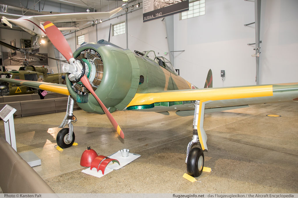 Nakajima Ki-43-Ib Hayabusa Flying Heritage Collection N750N 750 Flying Heritage Collection Everett, WA 2016-04-12 � Karsten Palt, ID 12375